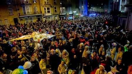Ilfracombe Lighting of the Lights 2017. Picture: Tim Lamerton
