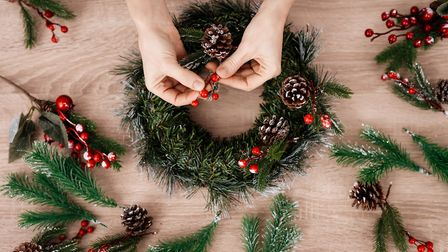 Make your own decorations from natural foliage. Getty Images/iStockphoto