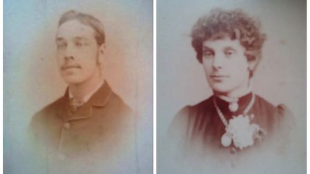 Albert and Mary Willcocks, the former Torrington station master and his wife, are said to haunt the
