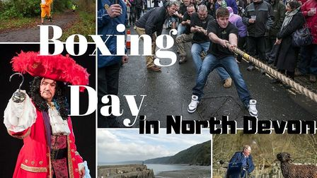 There is lots to see and do in North Devon this Boxing Day.