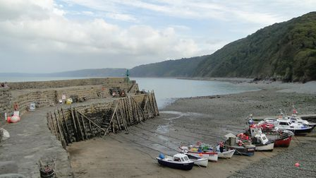 There will be a Boxing Day 2018 barbecue plus live music on the quay at Clovelly. Picture: Tony Guss