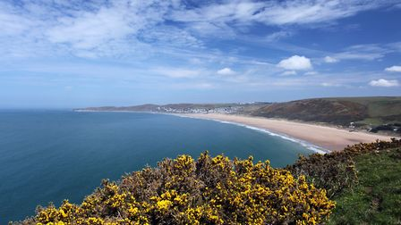 Putsborough to Woolacombe and back is a picturesque route. Picture: Getty Images/iStockphoto