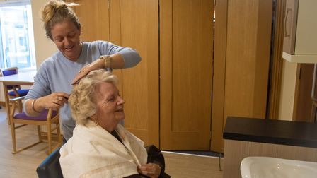 Hairdressing at Hatchmoor Apartments.
