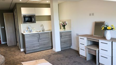 Spacious, modern accommodation at Hatchmoor Apartments.