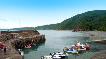 Clovelly features heavily in the new series called Devon & Cornwall on More4. Picture: True North