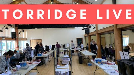 The Gazette is live from the Torridge District Council election count at Langtree Village Hall. Pict