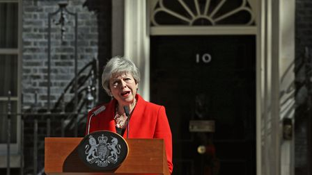 Theresa May has said she will step down on June 7. Picture: Yui Mok/PA Wire