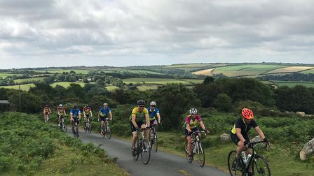 The 72 Ride for Precious Lives cyclists spent three days travelling across the West Country for Chil