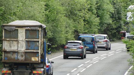 The North Devon Link Road will be closed overnight for resurfacing. Picture: Tony Gussin