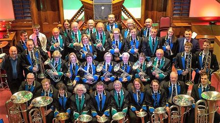 It's been a busy June for Bideford and Wetherby town bands. Picture: Bideford Town Band