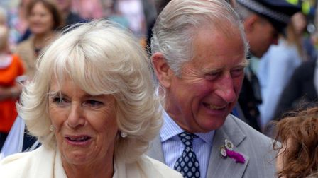 Prince Charles and Camilla the Duchess of Cornwall are to visit Simonsbath. Picture: Graham Hobbs