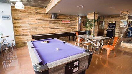 Some of the games on offer inside Latitude 48. Picture: Indigo Perspective Photography