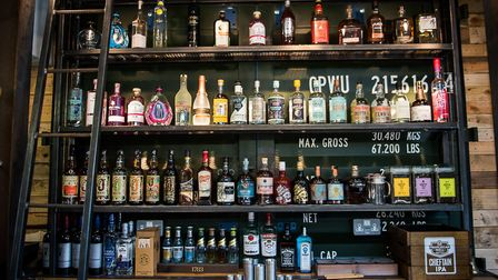 Some of the spirits on offer at Latitude 48 in Barnstaple High Street. Picture: Indigo Perspective P