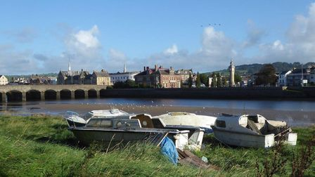 A view of Barnstaple from the riverside path. Picture: ND Ramblers