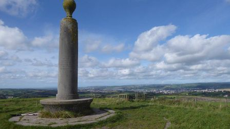 Heading up to the top of Codden Hill makes for a pleasant evening walk. Picture: ND Ramblers