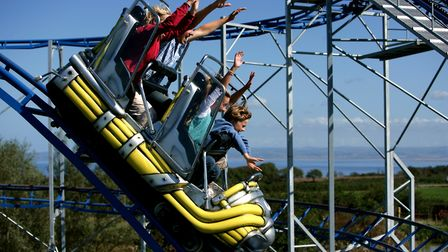 The Cosmic Typhoon at The Milky Way Adventure Park. Picture: Milky Way