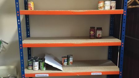 Northern Devon Foodbank is running out of some items this summer. Picture for illustration only.