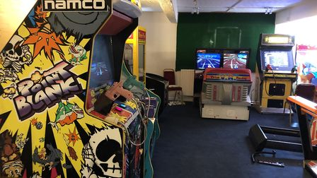 Some of the arcade games set to feature in Play Bideford.