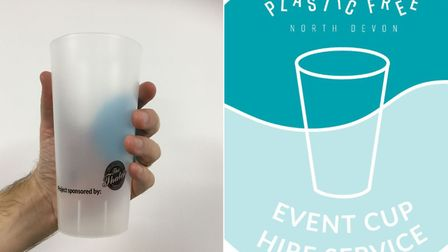Plastic Free North Devon is offering a new cup rental service for events and would like to get more