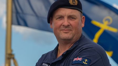 Chief Officer James Wingrove from Langtree has been helping the Caribbean relief effort. Picture: Ro