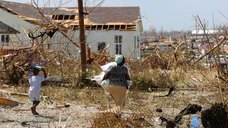 Islanders of Great Abaco in the Bahamas are picking up the pieces after Hurricane Dorian. Picture: M