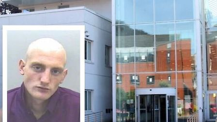 Adam Peard has been jailed for 30 weeks after a threat to burn down the Freedom centre in Barnstaple