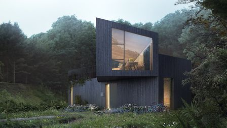 How the Falcon house at the new Birchwood estate will appear from outside. Picture: Koto/Habitat Fir