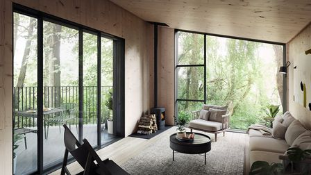 How the Falcon house at the new Birchwood estate could look inside. Picture: Koto/Habitat First Grou