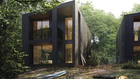 The proposed new Tree House design for some of the homes on the new Birchwood estate at Landkey's Ve