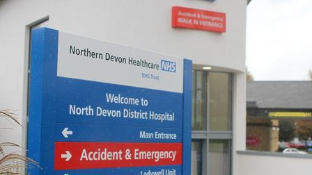 The A&E department is the 'foundation' of North Devon District Hospital and the trust says it is rev