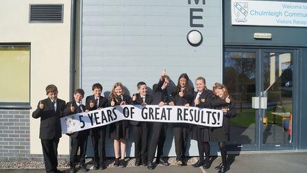 Year 7 pupils at Chulmleigh Community College. Picture: Chulmleigh Community College.