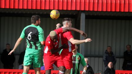 Barnstaple Town v Winchester City in BetVictor Division One South. Picture: Matt Smart