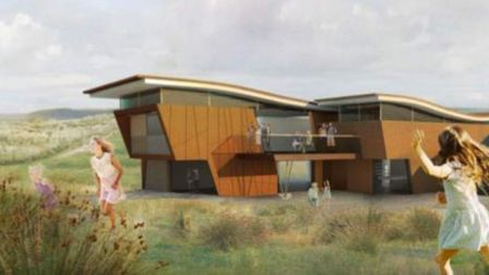 An artist's impression of how the new Burrows Centre at Northam will look.