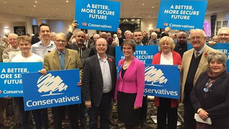 Selaine Saxby has been selected as the Conservative Party's candidate for the upcoming general elect