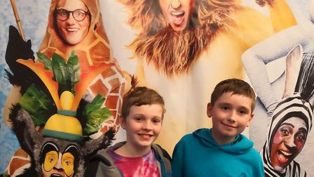Ollie B and Ollie P have been giving their opinion of Madagascar the Musical after watching it at th