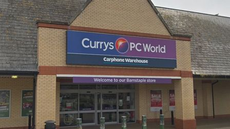 Currys PC World in Barnstaple Retail Park. Picture: Google