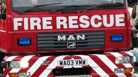Devon and Somerset Fire and Rescue Service were called to the scene.