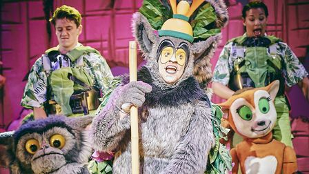 Scenes from the live action stage show Madagascar the Musical. Picture: Mark Dawson Photography