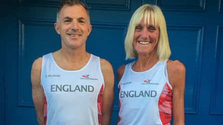 Gary Suggate and Lorraine Clements will wear the England vest in Yorkshire.