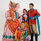 Join the cast of Snow White in Barnstaple for 2019 for the Queen's Theatre Christmas pantomime. Pict