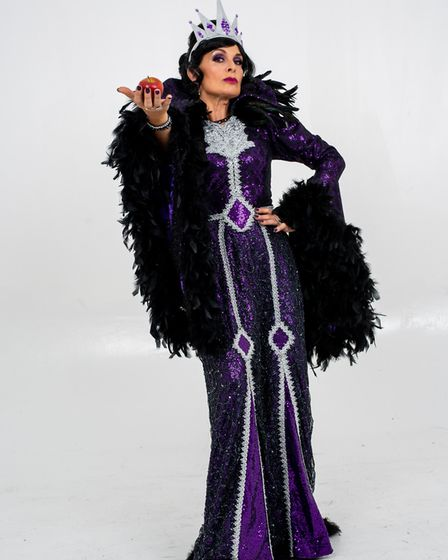 One quarter of Bucks Fizz - Jay Aston - will play the Evil Queen in this year's Queen's Theatre Chri