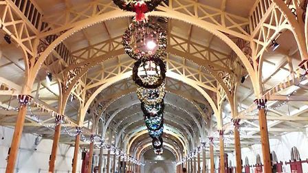 Barnstaple Pannier Market will host the Christmas lights switch on for 2019 and will also be adorned