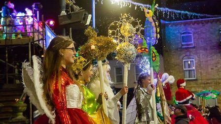The Combe Christmas event in Ilfracombe will be bustling with colourful characters. Picture: Tim Lam