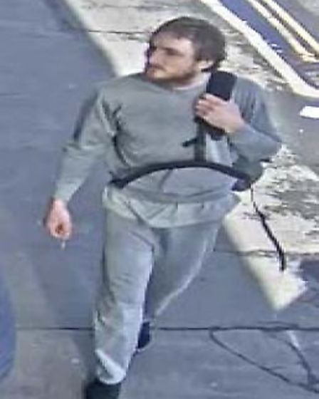 CCTV footage of Alexander Lewis-Ranwell in Exeter City Centre.