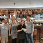 SQ has donated £200 to Plastic Free North Devon - the amount the Braunton bar and restaurant would h
