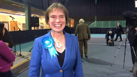 Selaine Saxby has won the North Devon seat for the Conservatives with a big majority. Picture: Tony