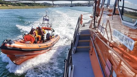 Appledore's all-weather and inshore lifeboats. Picture: Appledore RNLI crew member Lucy LoVel