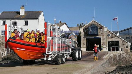 Appledore RNLI trains every week to enable it to cope with all emergencies. Picture: Simon Ellery