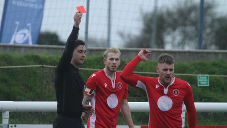 Barnstaple Town v Paulton Rovers in BetVictor Division One South. Picture: Matt Smart