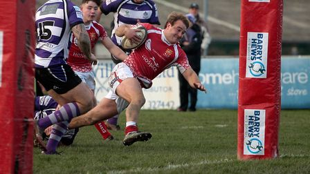 Barnstaple v Exmouth in the South West Premier. Picture: Bob Collins
